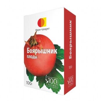 Боярышник, плоды, 100 г