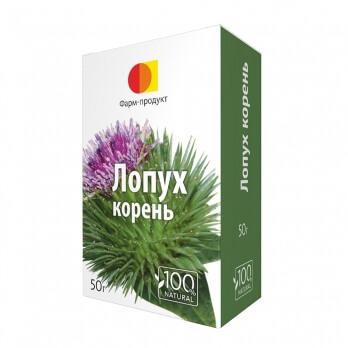 Лопух, корень, 50 г