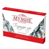 """Мумие Алтайское очищенное """"Бальзам гор"""", 60 таблеток"""