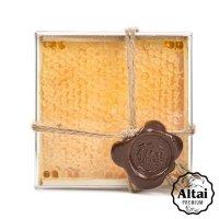 Алтайский мед в сотах Акациевый , 360 г