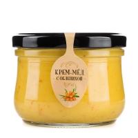Крем-мед с облепихой, 250 г