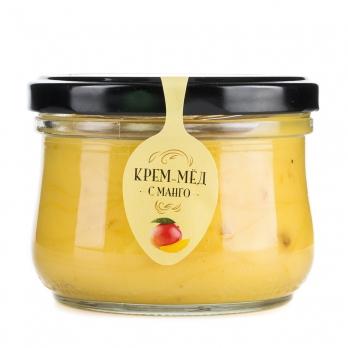 Крем-мед с манго, 250 г