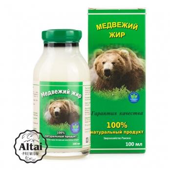 Медвежий жир, 100 мл