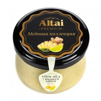 Крем-мёд с имбирем и лаймом