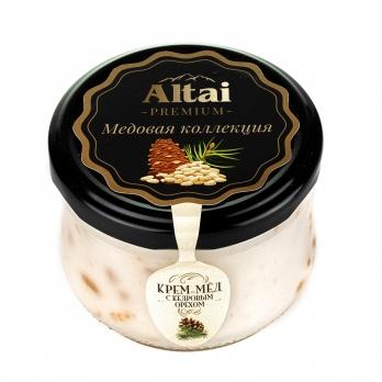 Крем-мед с кедровым орехом, 250 г