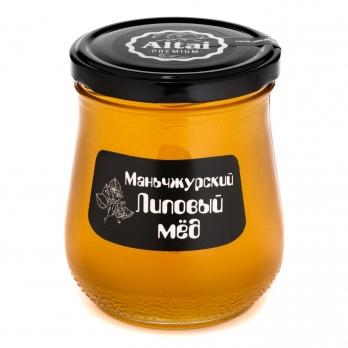 """Мед маньчжурский Липовый """"Алтай ПРЕМИУМ"""", 600 г"""